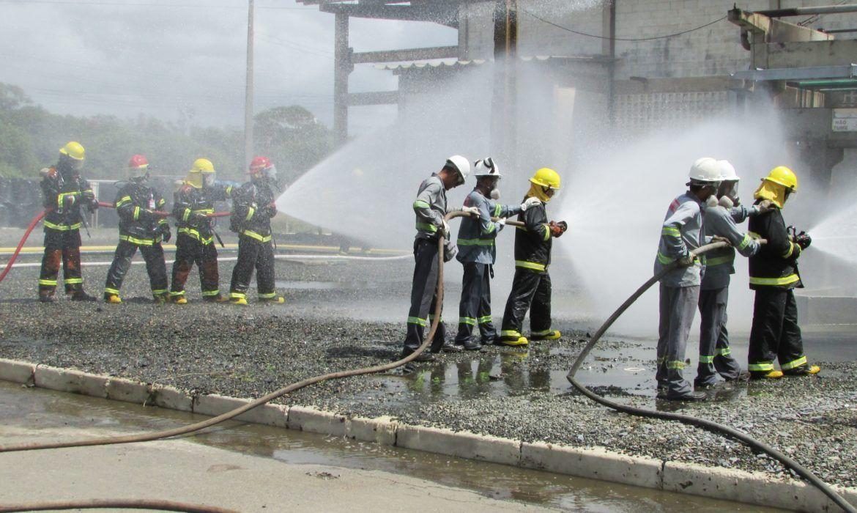 Cetrel realiza simulado de emergência na unidade de Incineração - Cetrel