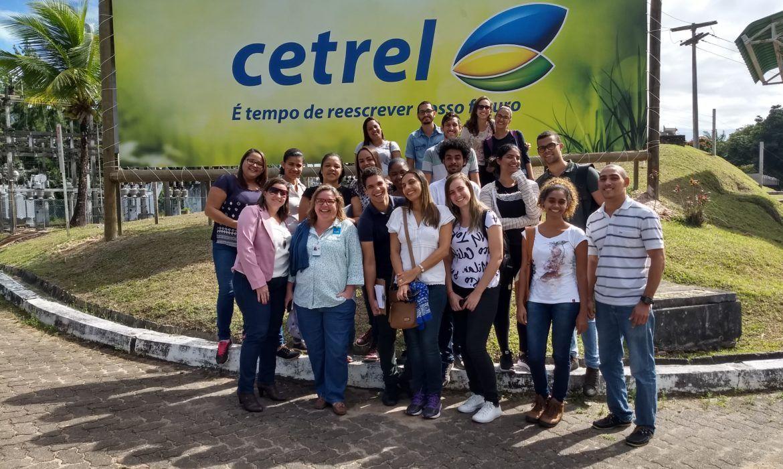 Estudantes universitários participam do Programa Portas Abertas - Cetrel
