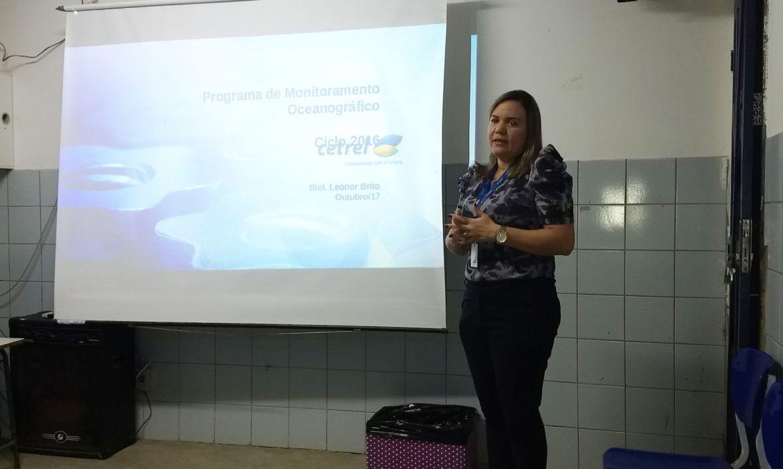 Cetrel apresenta resultados de monitoramento em Arembepe - Cetrel