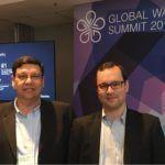 Integrantes da Cetrel participam de evento mundial de água em Paris