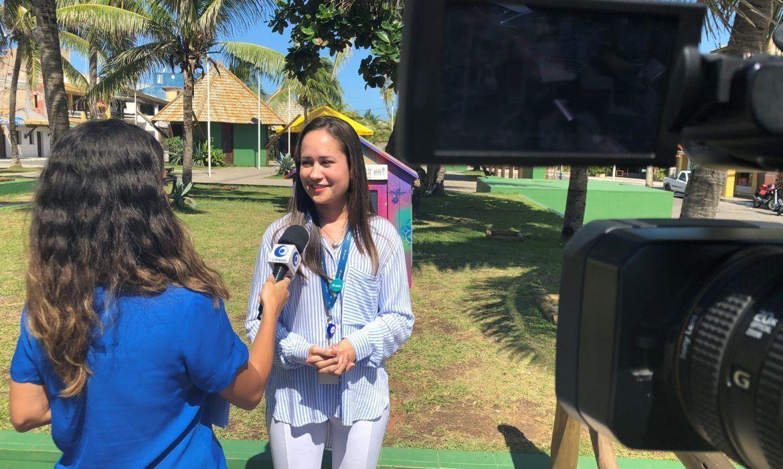 Cetrel concede entrevista à TV Câmara de Camaçari