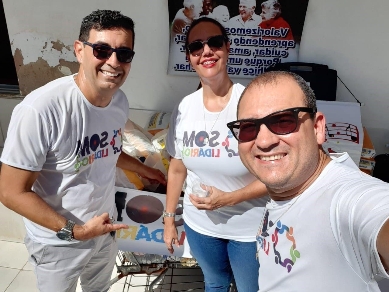 Integrantes da Cetrel realizam ações solidárias durante a pandemia